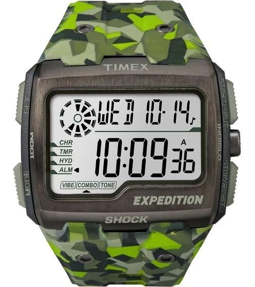 Relógio Masculino Timex Expedition Grid Shock - Tw4b07200