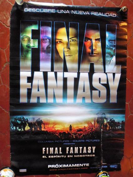 Poster Original Cine Final Fantasy (2001) 100x70