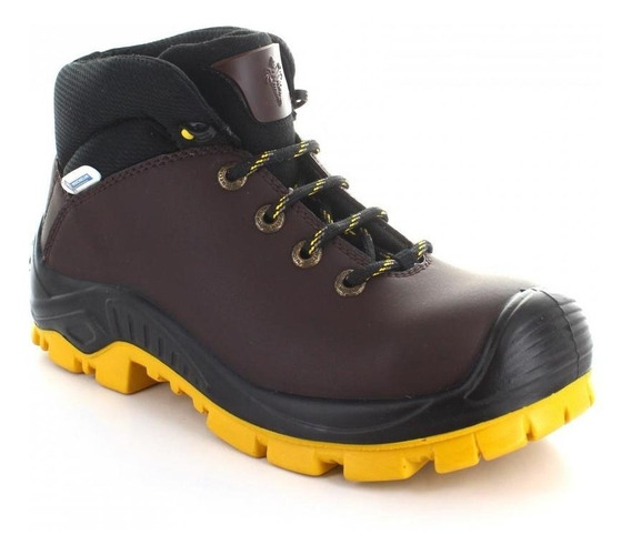 Botin Para Hombre Michelin Tyran-050467 Color Cafe