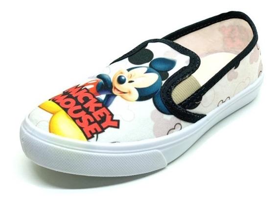 Tenis Iate Slip Infantil Menino Mickey Mouse