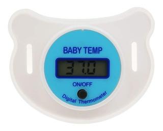 Chupete Termómetro Digital Para Bebé Niño