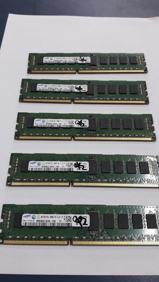 Memória Servidor Ecc Pc3l 4gb Samsung Pc3l 10600r 2rx8 1333m