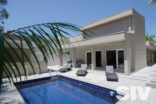Casa Com 4 Dormitórios À Venda, 330 M² Por R$ 4.600.000,00 - Riviera - Módulo 3 - Bertioga/sp - Ca0679
