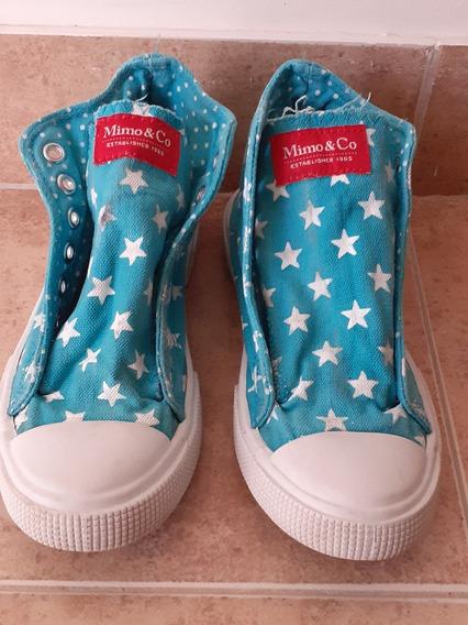 Zapatillas Mimo&co 35 Estrellas