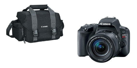 Canon Sl2 Ef-s 18-55 Stm+bolsa Canon Org. Revenda Autorizada