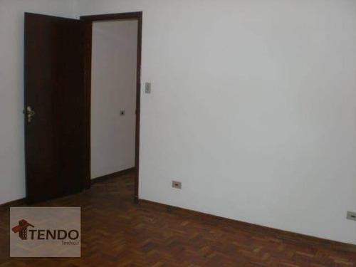 Imagem 1 de 23 de Imob01 - Sobrado 160 M² - Alugar - 3 Dormitórios - Centro - Santo André/sp - So0772
