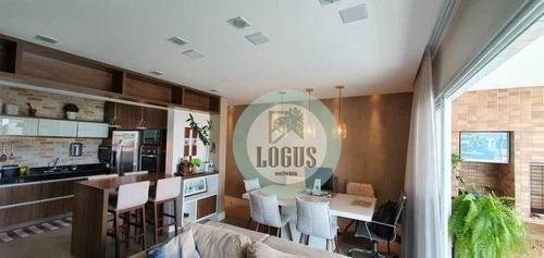 Imagem 1 de 16 de Apartamento Com 3 Dormitórios À Venda, 103 M² Por R$ 745.000,00 - Jardim Do Mar - São Bernardo Do Campo/sp - Ap1802