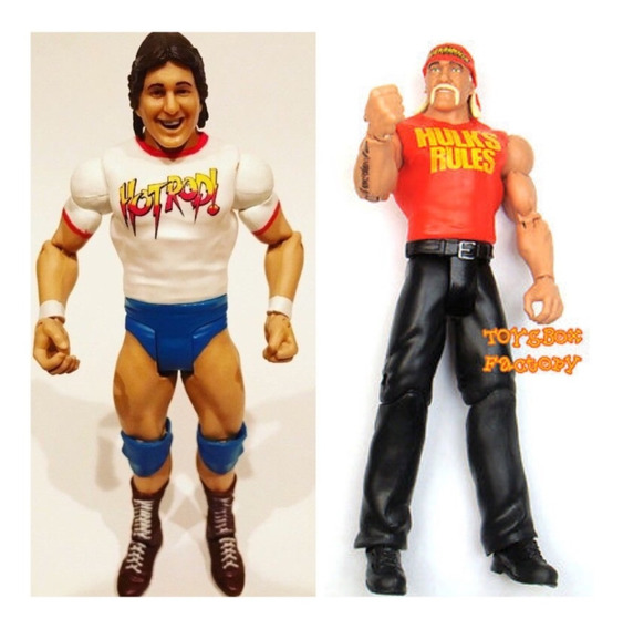 Hulk Hogan + Rowdy Roddy Piper 2 Bonecos Mattel Wwe Wwf Wcw