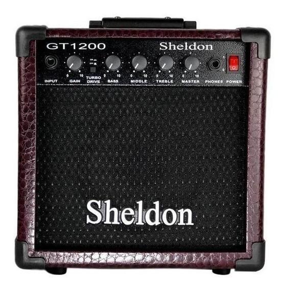 Amplificador Sheldon GT1200 15W bordô