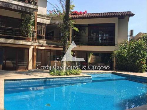 Casa Em Condomínio-à Venda-itanhangá-rio De Janeiro - Tjcn50002