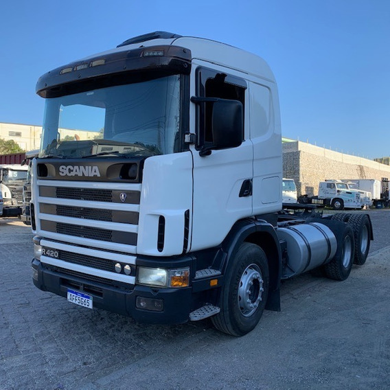 Scania 124 420 6x2