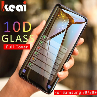 Para Galaxy S8 Plus - Branco - 10d Capa Completa Vidro Tempe