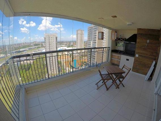 Apartamento 3 Dormitórios Para Alugar, 116 M² Condomínio Club Premiere Jardim Aquarius - Sjcampos/sp - Ap1726