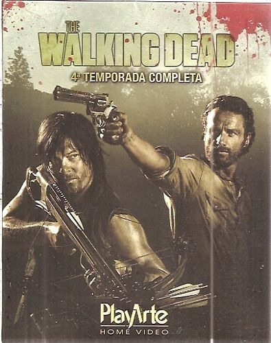 The Walking Dead: 4° Temporada Completa (blu-ray)