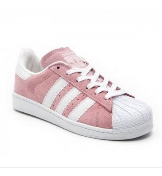 Tenis adidas Superstar Rosa Feminino Original. Em Promoção.