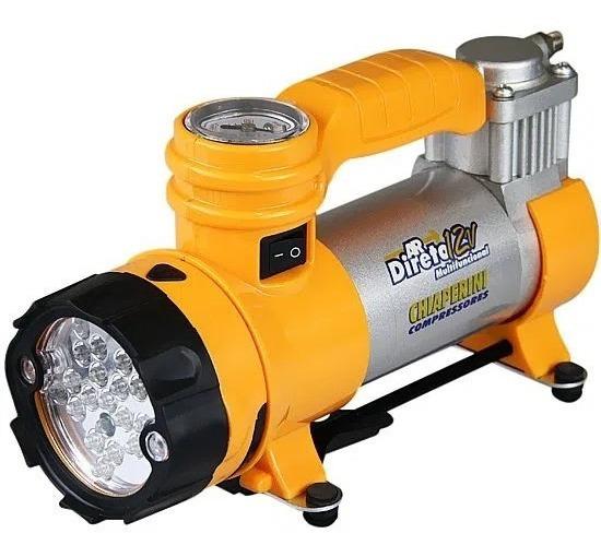 Compressor Ar Direto 12v C/lanterna 16728 Chiaperini