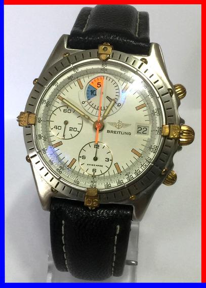 Raro Breitling Chronomat Yachting Regata 81.950, Revisado!