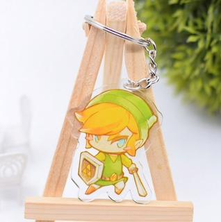 Llavero The Legend Of Zelda Kawaii Acrilico