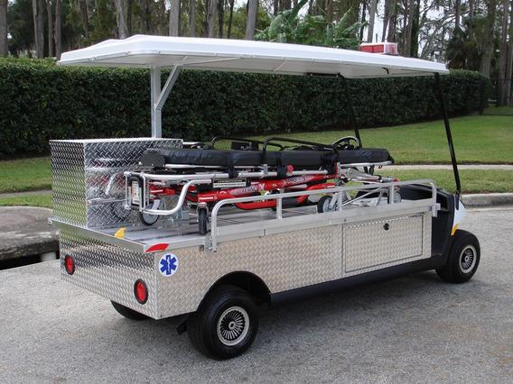 Carro Ambulancia Electrico