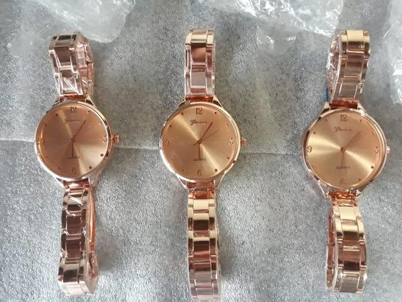 Relógio Feminino Quartz, Geneva - Novo