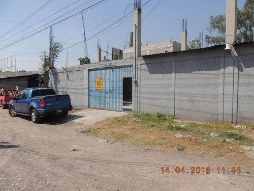 Se Renta Terreno Excelente Ubicación En Ecatepec.