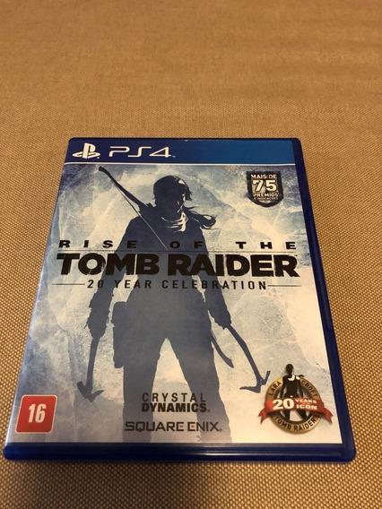 Rise Of The Tomb Raider Ps4 Mídia Física Lacrado