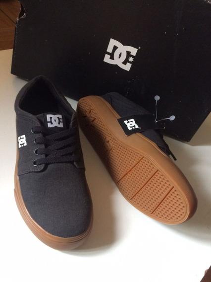 Tênis Dc Shoes Trase Tx Black/gum Preto/marrom 34