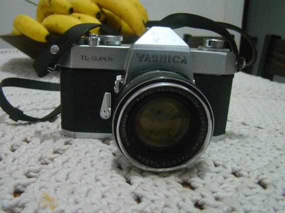 Câmera Fotográfica Yashica Tl Super Conf. Descrição