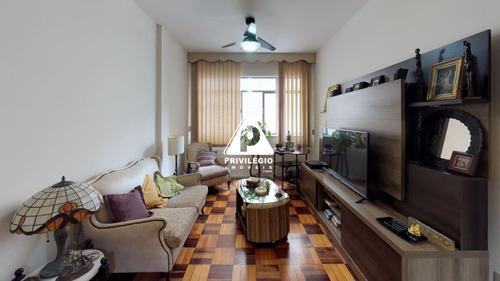 Apartamento À Venda, 3 Quartos, 1 Suíte, Botafogo - Rio De Janeiro/rj - 25933
