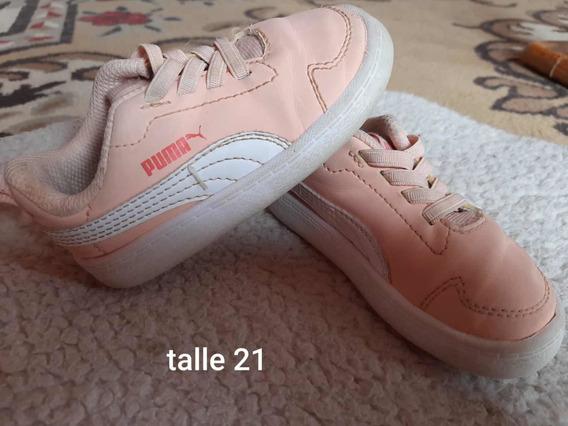 Zapatillas De Nena Talle 20 21 22