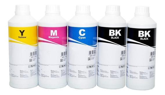 5 X 500 Ml - Tinta Epson Inktec Corante + 500ml Pigmentada