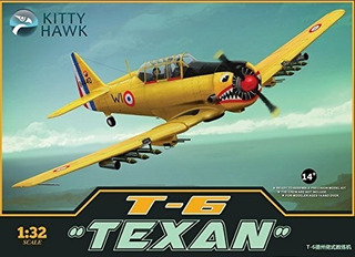 Kitty Hawk Kh32002 132 Harvard Ii Norteamericano T6 Texan Mo