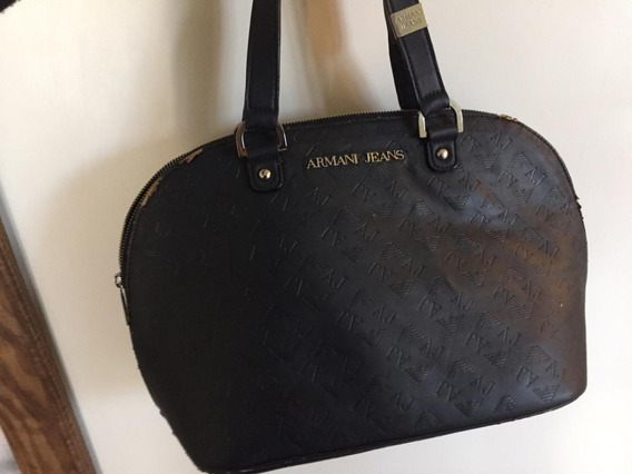 Bolsa Armani Jeans Handbag Original Com Danos Externos
