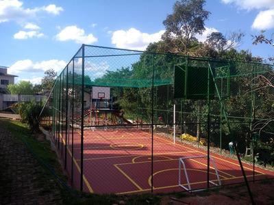 Construção De Quadra De Esporte, Cobertura Metálica Ginásio