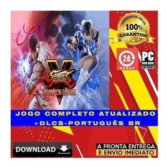 Street Fighter V Champion Edition Br + Brinde - Pc Digital