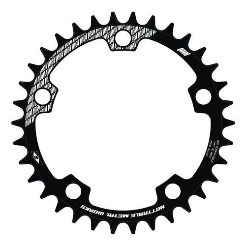 Coroa Única Narrow Wide Nottable Bcd 110 Gravel Cyclocross