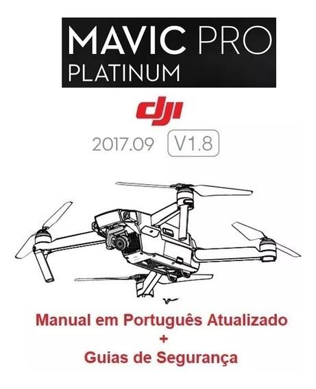 Manual Em Português Do Drone Dji Mavic Pro Platinum V1.6