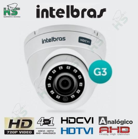 Câmera Intelbras Multi Hd Vhd 3120d G3 Ahd Hdtvi Hdcvi 720p