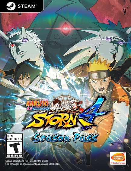 Naruto Shippuden Ninja Storm 4 Season Pass - Pc Steam Key