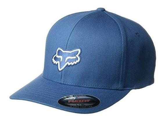 Gorra Fox Flexfit Legacy Azul Cachucha