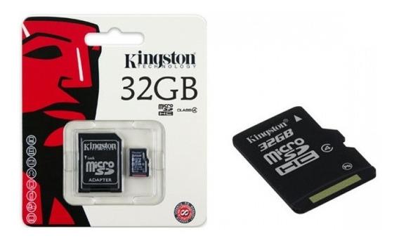 Cartao De Memoria Classe 4 Kingston Sdc4 32gb Micro Sdhc 32g