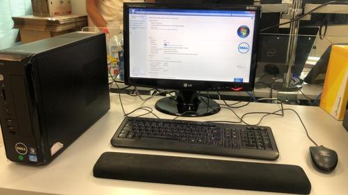 Pc Complet0 Dell Vostro 270s Corei3 4gb Ram 250 Hd C Monitor