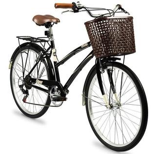 Bicicleta Vintage Olmo Amelie Rapide Acero Rod 26 6 V