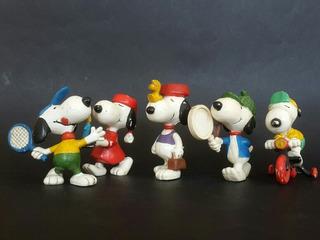 Lote X5 Muñecos Snoopy 1958 - Los Germanes
