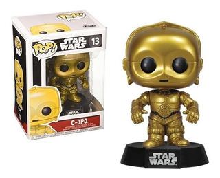 Funko Pop C-3po Star Wars 13 Distribuidora Lv