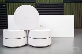 Rede Mesh Roteador Wi-fi Google Wifi Com 3 Unidades, Ac1200