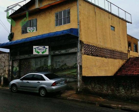 Galpão Comercial Para Venda E Locação, Carapicuíba, Carapicuíba. - Ga0027