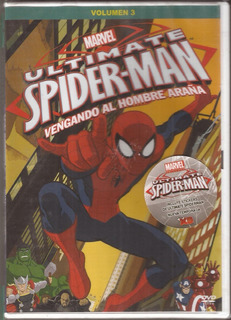 Marvel Ultimate Spiderman Volumen 3 Dvd Original Nuevo