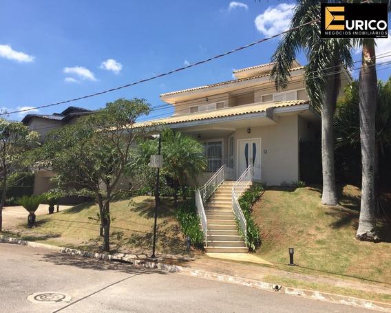 Excelente Sobrado À Venda No Condomínio Terras De São Carlos Em Jundiai Sp - Ca01880 - 34447037