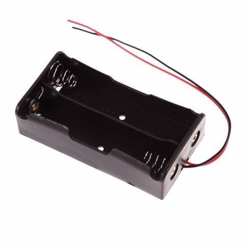 10 X Suporte Bateria Li-ion 2 X 18650 4,2 V - 0277